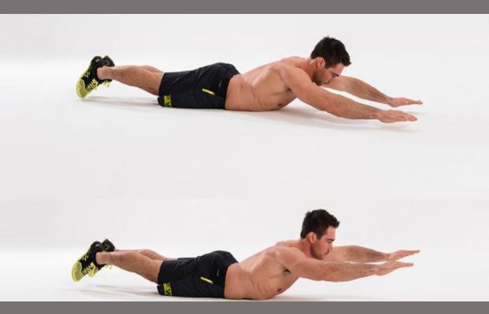 Superman - Core Exercises