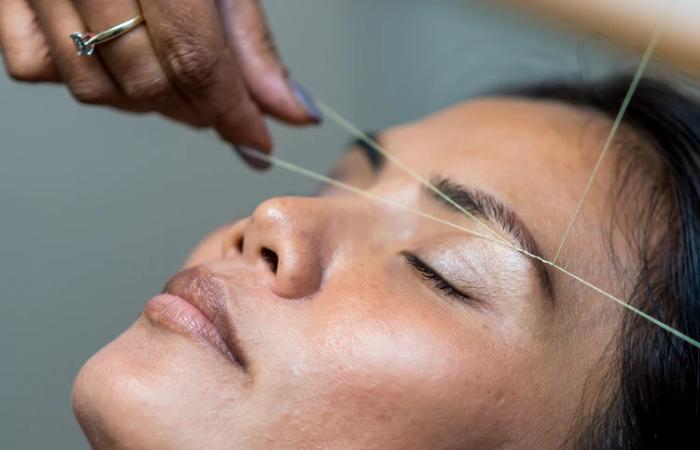 Thread Versus Facial Hair - Beauty Treatments