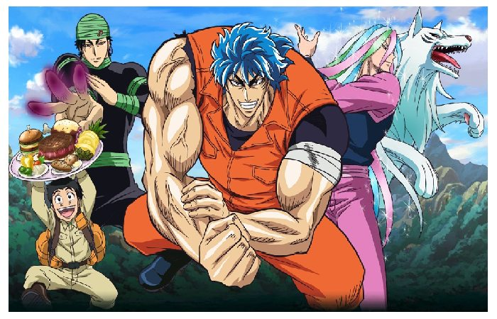 Toriko in the Gourmet World - Anime Workouts